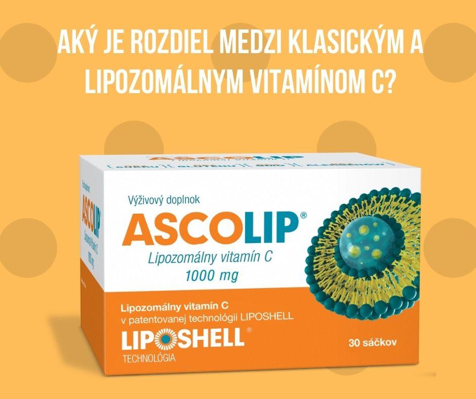 Aký je rozdiel medzi klasickým a lipozomálnym vitamínom C