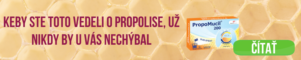 Keby ste toto vedeli o propolise, už nikdy by u vás nechýbal banner