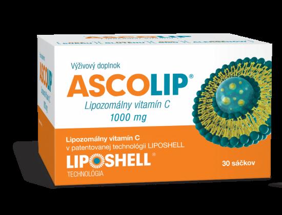 Lipozomálny vitamín C Askolip 1000mg