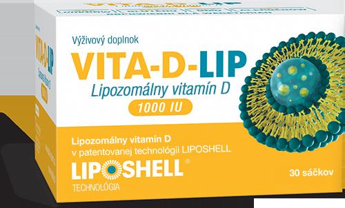 Lipozomálny vitamín D Vita-D-lip 1000 IU