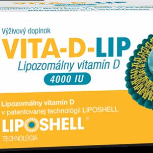 Lipozomálny vitamín D Vita-D-lip 4000 IU