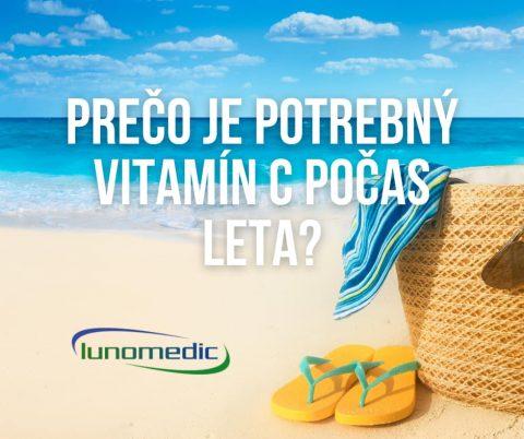 Prečo je potrebný vitamín C počas leta