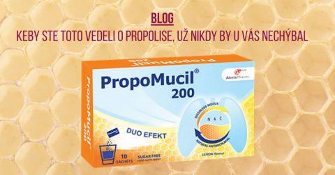 ucinky propolisu na ludske zdravie