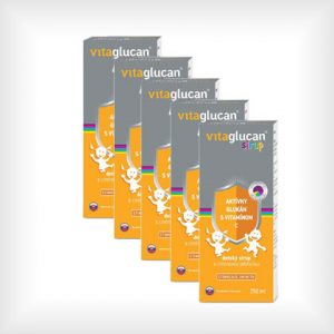 balík vitaglucan sirup pre deti s vitamínom C